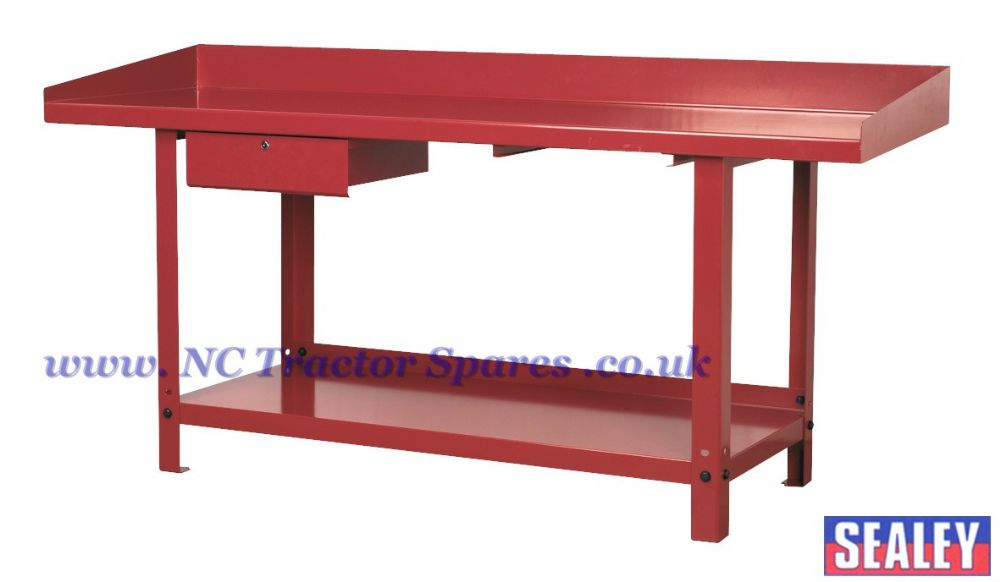 Workbench Steel 2mtr with 1 Drawer.